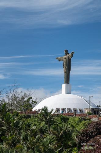 Christus Statue auf dem Pico Isabel de Torres (1)