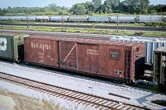 CB&Q Class XML-10 23618 (Chuck Zeiler) Tags: cbq class xml10 burlington railroad box car boxcar freight chz eola 23618