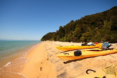 Abel Tasman Nationalpark (Garfield4989) Tags: abel tasman nationalpark new zealand neuseeland kayak beach