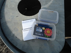 Geocaching (Wilderness Kev) Tags: australia newsouthwales nsw redcentreholiday2016 day1 geocaching