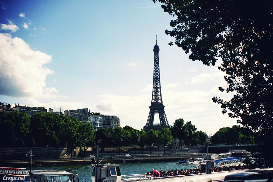 2016.8.28 ▐ 看我的歐行腿▐ 法國巴黎凱旋門、香榭麗舍間的歷史之道 05