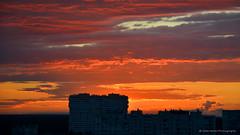 Sky at sundown (gala.timchenko) Tags: sky skyline cloud sundown skyscape colour horizon