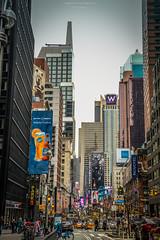 New York, New York (Mariano Colombotto) Tags: newyork newyorkcity nyc ny manhattan streetphotography street nikon nikonphotography nikond610 travel travelphotography tourism turismo calle callejera advertisements billboards buildings edificios skyscrapers rascacielos city ciudad