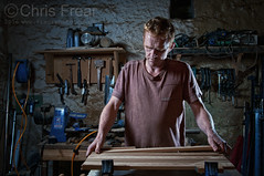 050916---03 (Chris Frear) Tags: pocketwizard flash strobist sb800 nikon d90 nithsdale penpont workshop craftsman dumfries scotland september portrait offcameraflash 2016