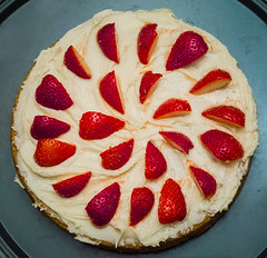 Strawberry Shortcake (Hermit Haunt) Tags: vegan strawberryshortcake food
