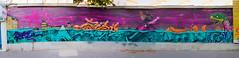 Paris underwater (OliveTruxi (1 Million views Thks!)) Tags: 2rode arturbain bambam binho graff graffiti lazoo paris streetart urbanart france