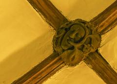 Cotehele Chapel Green Man (Missusdoubleyou) Tags: cothele nationaltrust cotehelegreenman greenman cornwall