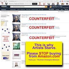Amazon-copyright-infringment-deceptive-counterfeit-products-dont-buy (artistsagainstamazon) Tags: amazon counterfeitproducts counterfeits knockoffs copyrightinfringement jeffbezos chinesesellers intellectualproperty amazoncom counterfeitgoods counterfeit amazonpillows amazoniphonecases amazonshowercurtains amazonelectronics starvingartists amazontshirts amazonsucks