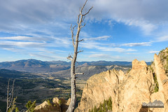 Cathedral Rock (kevin-palmer) Tags: yellowstone yellowstonenationalpark nationalpark wyoming fall autumn september nikond750 tamron2470mmf28 bunsenpeak hike cathedralrock hoodoos evening sunny sunshine