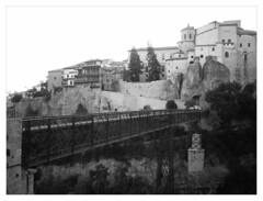 Puente de San Pablo (ric) Tags: cuenca puente bridge bn bw imagedatadmcg1180f17100 uploadscript imagemagick im:opts=fx03g07rlevel29008 photo:id=p1090364jpg