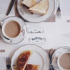 Frhstck (Svenjanein) Tags: majestic caf porto portugal frhstck breakfast food lecker essen