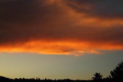 Sunset 8 12 16 007 (Az Skies Photography) Tags: sun set sunset cloud clouds sky skyline skyscape dusk twilight nightfall red orange yellow gold golden salmon black rio rico arizona az riorico rioricoaz arizonasky arizonaskyline arizonaskyscape arizonasunset august 2016 canon eos rebel t2i canoneosrebelt2i eosrebelt2i 12 august122016 81216 8122016