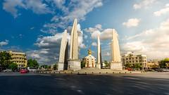 Democracy Monument (Context Travel) Tags: bangkok shutterstock