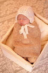 snug as a bug (Hooked on Capture) Tags: basket neutral baby child