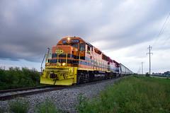 TPW 5009 East (BSTPWRAIL) Tags: tpw toledo peoria western railroad railway railamerica rail america road way local grain extra train gp50 locomotive cruger illinois gw genesee wyoming