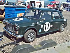 296 MG *1100 Mk.I (1965) (robertknight16) Tags: mg british 1960s ado16 1100 1300 issigonis moulton bmc hydrolastic donington racecar racing
