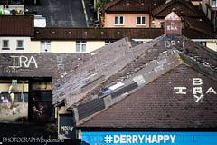 DERRY GRAFFITI (PHOTOGRAPHY bydamanti) Tags: londonderry northernireland unitedkingdom gb derry buildings graffiti