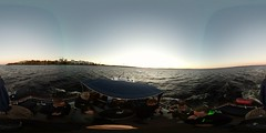 #Boat #trip on #lake #Nsijrvi at #sunset. #Autumn in #Finland #Tampere #nofilter #360 #Tampereallbright (Petri Nyknen) Tags: tampere trip autumn nsijrvi tampereallbright boat nofilter sunset lake 360 finland