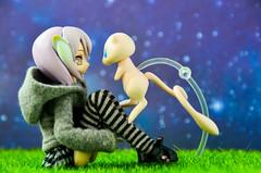 Hello? (.::Avalon Jane::.) Tags: toyphotography pokemon mew busou shinki busoushinki partio