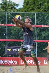 Saving it (Danny VB) Tags: volleyball sport beachvolleyball summer sand canon eos 7d ef70200mmf4lusm action photo photography savingit dannyboy summeratjeannemancepark