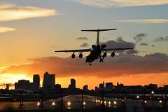 HB-IYS (8) @ LCY 25-09-16 (AJBC_1) Tags: london londoncityairport aircraft plane swiss rj100 hbiys lcy eglc aviation dlrblog londonsroyaldocks newham royaldocks airliner londonboroughofnewham eastlondon docklands civilaviation transport transportation jet passengerplane england unitedkingdom uk ajc airplane flylcy aeroplane northwoolwich avgeek nikond3200 sunset dusk citybuilding cityskyline city