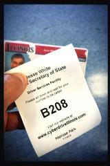 (264/366) DMV (CarusoPhoto) Tags: hipstamatic dmv driver drivers license john caruso carusophoto photo day project 365 366 iphone 6 plus app number wait line