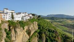 Romantic Ronda (florianweixlbraun) Tags: cliffs rocks panorama ronda spain landscape hills canyon klippe fels aussicht landschaft hgel romantik ruhe silence romantic andalusia andalusien