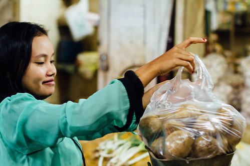 Potato Vendor, Pasar Keputran Market, Surabaya Indonesia