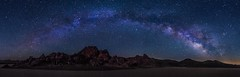 Racetrack Playa Panorama (Eric Gail: AdventuresInFineArtPhotography) Tags: racetrackplaya deathvalley playa panorama milky way stars nightscape lll lowlevellighting canon canon6d