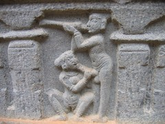 Hosagunda Temple Sculptures Photos Set-1-Erotic sculptures (2)