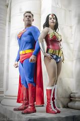 Themyscira Meetup (Greg Larro Photography) Tags: dragon con dragoncon dragoncon2015 2015 convention cosplay themyscira wonder woman diana prince superman clark kent kal el krypton kryptonian dc comics