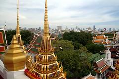 Wat Ratcha Natdaram Worawihan (pbr42) Tags: thailand bangkok temple religion buddhist architecture sky pagoda wat watratchanatdaramworawihan