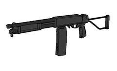Full Size Valtro PM-5 Pump-action Shotgun Free Paper Model Download (PapercraftSquare) Tags: 11 fullsize pm5 shotgun valtro valtropm5