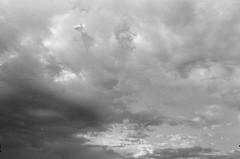 (Benz Doctolero) Tags: canon t50 ilford hp5 400 bw monochrome film street clouds sacramento california 50mm
