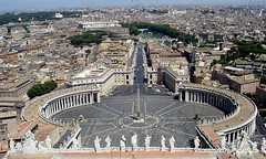 Piazza san Pietro - Vaticano - Roma