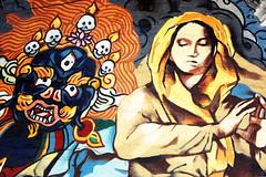 (Rachel Citron) Tags: nyc newyorkcity streetart eastvillage digital nikon catholic bowery nytimes gothamist catholicism curbed marymagdalene thenewyorktimes marsbar picturenewyork thelocaleastvillage manhattanusersguide