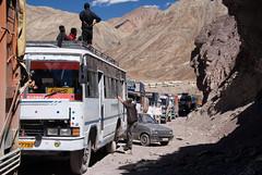 Highway construction (Ziemek T) Tags: construction highway ladakh motorcycling