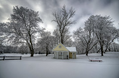 Grant Park Golf Course (JakeRost) Tags: winter snow nature wisconsin landscape nikon milwaukee grantpark milwaukeecountyparks nikond5100 jakerost winterstormnemo