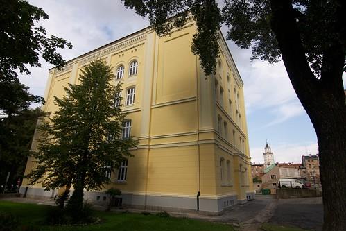 Budynek zespołu szkół (Kołłątaja 9) w Paczkowie