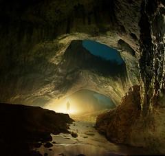 Devetashka Cave (inhiu) Tags: longexposure light lightpainting nature night dark square lowlight nikon bulgaria cave d800 lovech devetaki inhiu