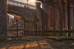 Castlefield Rays 3 (0-1-6-1) Tags: manchester canal railway rays castlefield