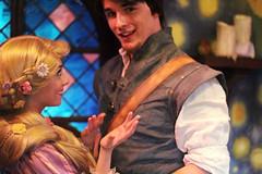 Rapunzel and Flynn (Brooke Pearce Photography) Tags: disneyland rapunzel flynn tangled flynnrider