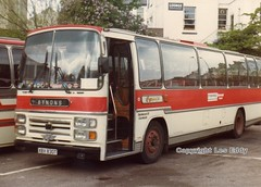 XBX830T (aecregent) Tags: reliance aec plaxton coachstation eynons xbx830t