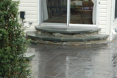 After - Paver Steps (The Sharper Cut Landscapes) Tags: landscaping steps maryland patio laurel privacy paver smallspace plantings landscapedesign seatwall uppermarlboro hardscape ephenry entertainmentarea landscapecompany devonstone thesharpercut