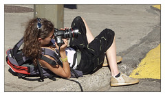 Good shot! (maoby) Tags: new old city people music sexy art history look digital vintage fun photo dance big model nikon funny montral you kodak jobs kurt elle picture olympus cameras montage pixel histoire top10 fille numrique rare fou zombi floue e10 follie aubry bobkurt