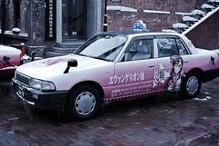 EVANGELION Taxi. (MIKI Yoshihito. (#mikiyoshihito)) Tags: anime eva neon taxi neongenesisevangelion otaku genesis evangelion