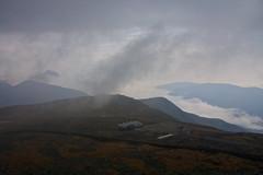On the summit of Mount Washington in the fog (SarahO44) Tags: new usa white mountains fog america way washington top united foggy hampshire mount summit states