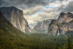 Storm Clouds over Yosemite (fieldsbh) Tags: california yosemite yosemitenationalpark elcapitan storms bridalveilfalls tunnelview clearingstorm