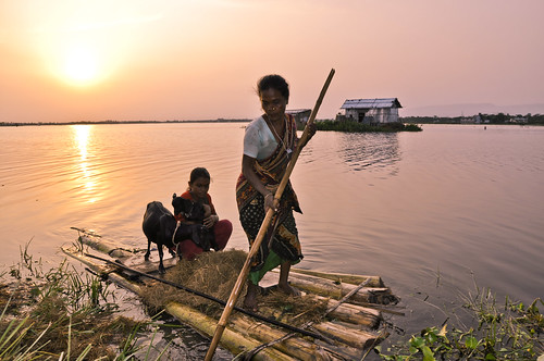 Life in Haor, Bangladesh. Photo by Balaram Mahalder, 2010.