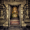 Wat Xiang Thong (violinconcertono3) Tags: religious temple gold buddha buddhism ornate laos wat fresco luangprabang davidhenderson londonphotographer 19sixty3